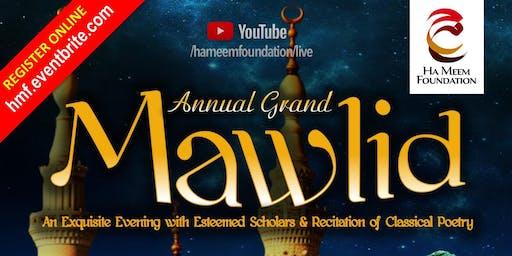 Annual Grand Mawlid 2019