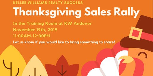Thanksgiving Sales Rally