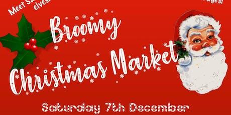 Broomy Christmas Market tickets