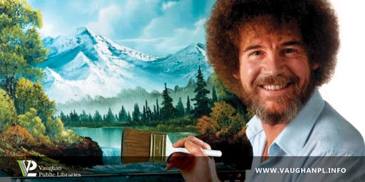 Bad Art Night: Bob Ross Edition
