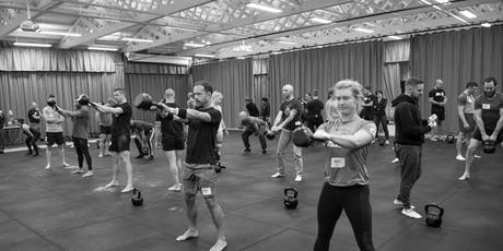 Kettlebell Workshop - Learn how to get STRONG with this minimalist training tickets
