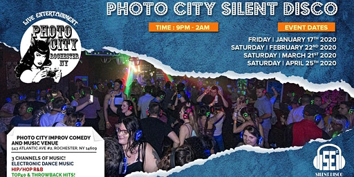 Photo City Silent Disco