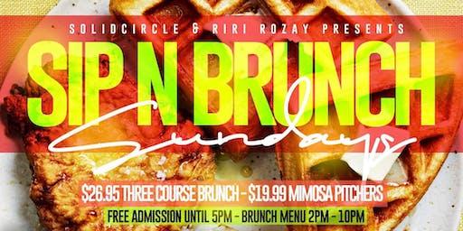 Sip N Brunch Sundays