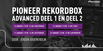 Pioneer Rekordbox 5 Advanced trainingen 2019/2020