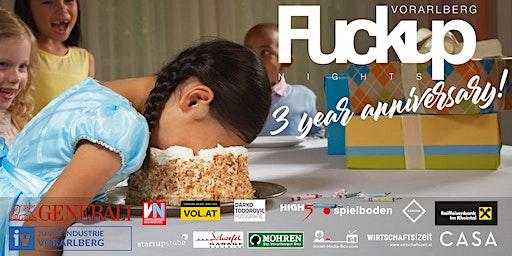 FuckUp Nights Vorarlberg // VOL. XII - 3 year anniversary!