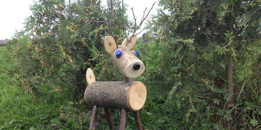 Rustic Reindeer Making