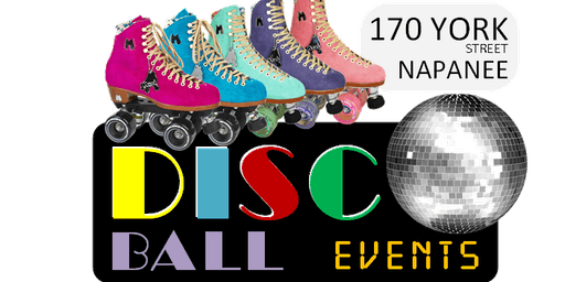 ROLLER SKATING at DISCO BALL events