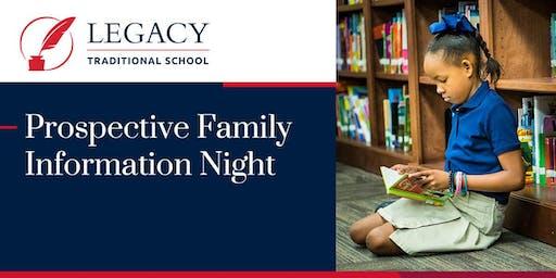 West Surprise Prospective Family Information Night - Dec. 16