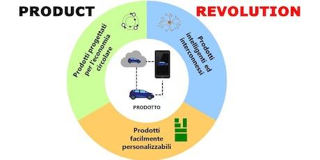 Creare più valore con prodotti intelligenti, personalizzabili e circolari biglietti