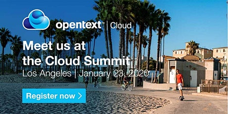 OpenText Cloud Summit - Los Angeles tickets