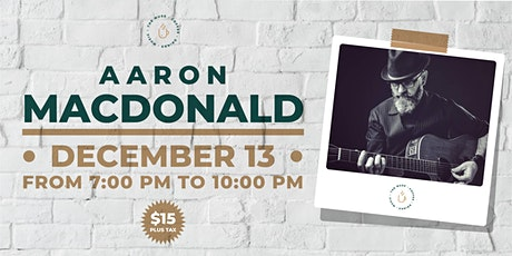 The Muse presents Aaron MacDonald tickets