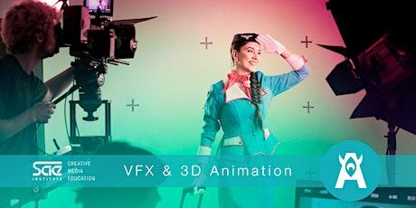 Workshop: Visual FX & 3D Animation Fundamentals Tickets