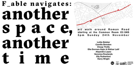 F_able Navigates: Another Space, Another Time