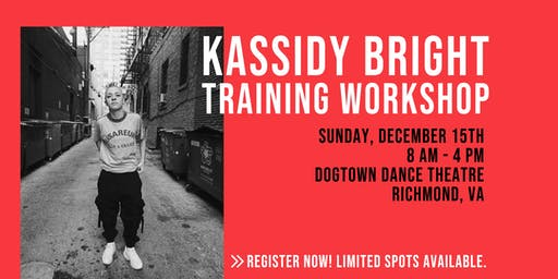 Kassidy Bright Training Workshop