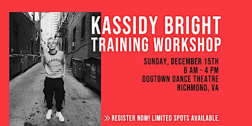 Kassidy Bright Training Workshop * RESCHEDULED*