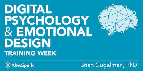 Digital Psychology & Emotional Design - Training Week (Toronto) tickets