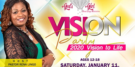 God's Diamond Girl Vision Party tickets