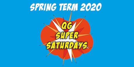 QG Super Saturdays: Hartbeeps Session 2 tickets