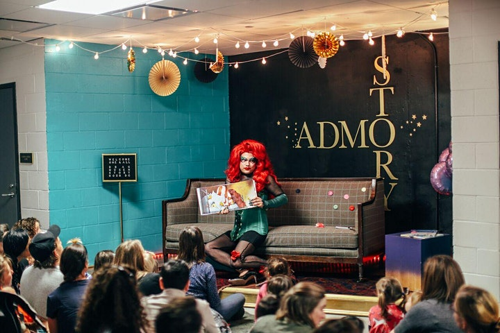 Drag Queen Story Hour with Special Guest Jaxknife Complex image