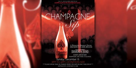 Kappa Champagne Sip tickets