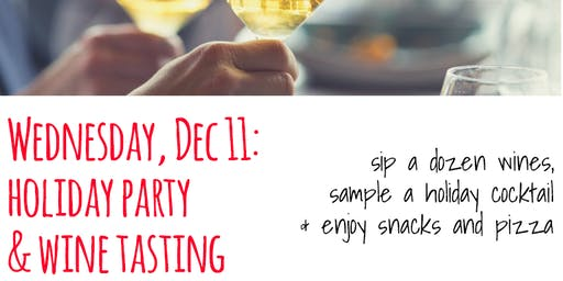 Forno holiday party & wine tasting