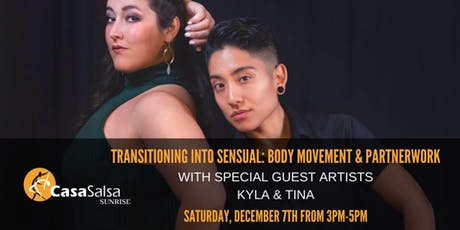 Transitioning into Sensual: Body Movement & Partnerwork tickets