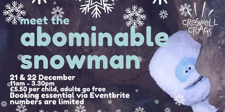 Abominable Snowman at the Crags tickets