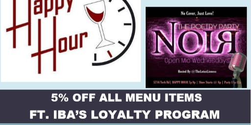IBA Happy Hour: NoiЯ Restaurant & Lounge