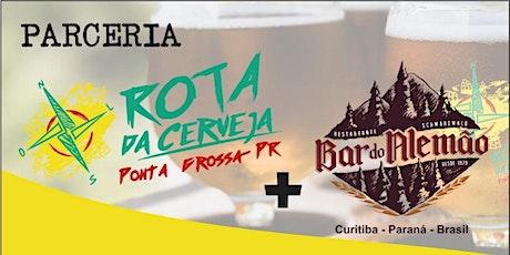 ROTA DA CERVEJA - BAR DO ALEMÃO - 21/12 ingressos
