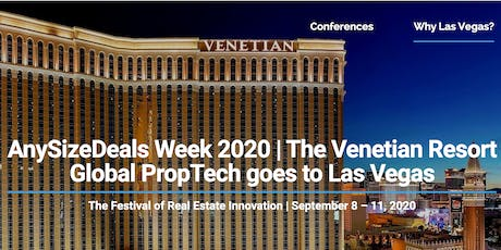 AnySizeDeals Week 2020 - Real Estate PropTech Conference in Las Vegas tickets
