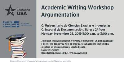 Academic Writing Workshop Argumentation