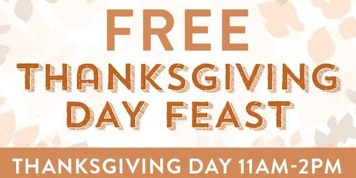 Free Thanksgiving Day Feast at Gallery Furniture
