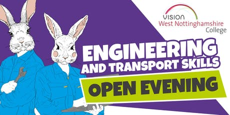 West Notts College - Engineering and Transport Skills Open Evening tickets