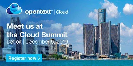 OpenText Cloud Summit - Detroit