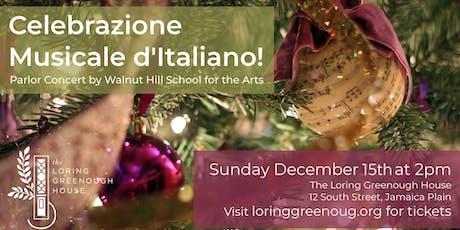 Celebrazione Musicale d'Italiano! tickets