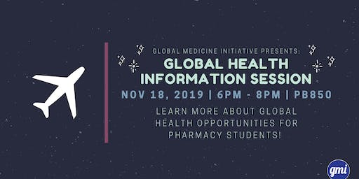 GMI presents: Global Health Information Session