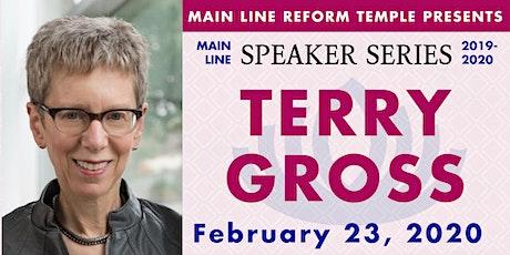 Main Line Speaker Series - Terry Gross at MLRT tickets