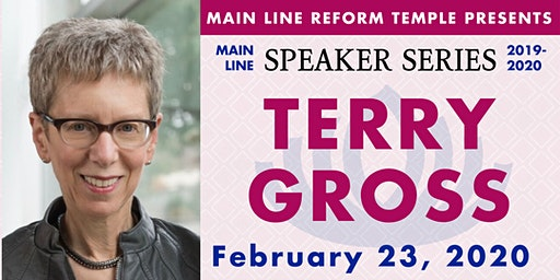 Main Line Speaker Series - Terry Gross at MLRT