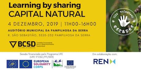 Ciclo Learning by Sharing REN- Valorização Estratégica do Capital Natural bilhetes