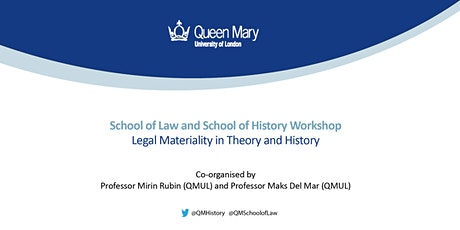 Workshop: Legal Materiality in Theory and History tickets