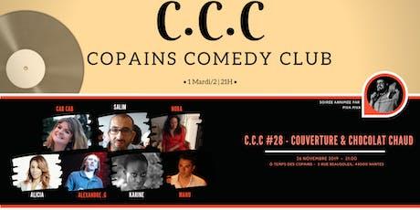 C.C.C #28 -couverture & chocolat chaud billets