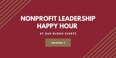 Nonprofit Leadership Happy Hour