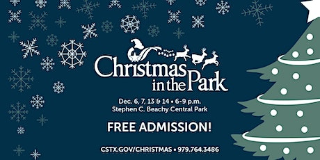 Christmas in the Park tickets