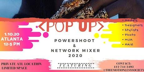 The 2020 Atlanta Pop Up Power Shoot & Network Mixer tickets