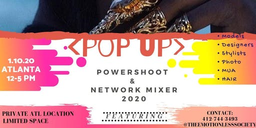 The 2020 Atlanta Pop Up Power Shoot & Network Mixer