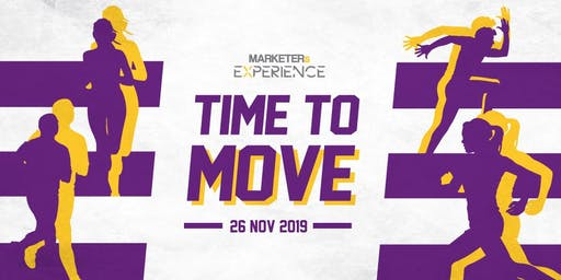 MARKETERs Experience 2019 - Time to Move