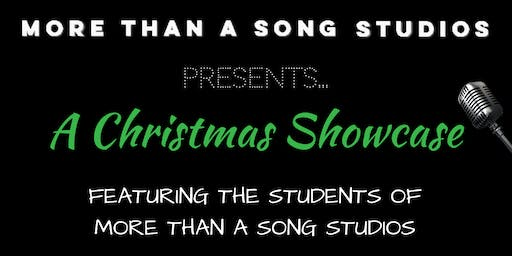 More Than A Song Studios Christmas Showcase