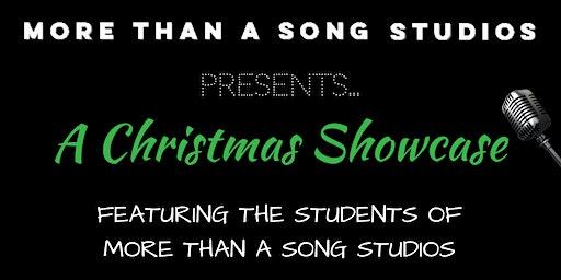 More Than A Song Studios Christmas Showcase