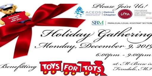 Holiday Party Supporting Toys for Tots