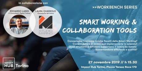 >> Impact Hub Workbench | SMART WORKING & COLLABORATION TOOLS biglietti